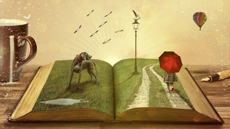 Lose yourelf in a good story and let your imagination run free