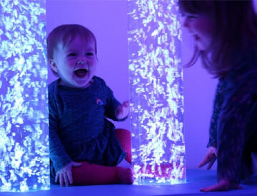 A Magical Experience in the New Sensory Room