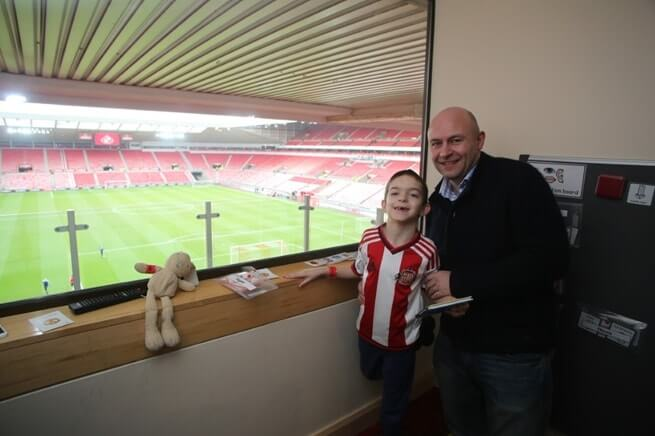 Sunderland Football Clubs new Sensory Room