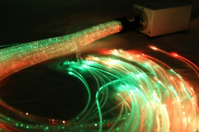 Fibre optic lights