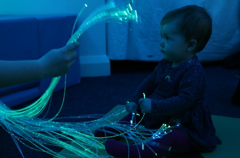 Clear Fibre Optic Lights - Sensory equipment