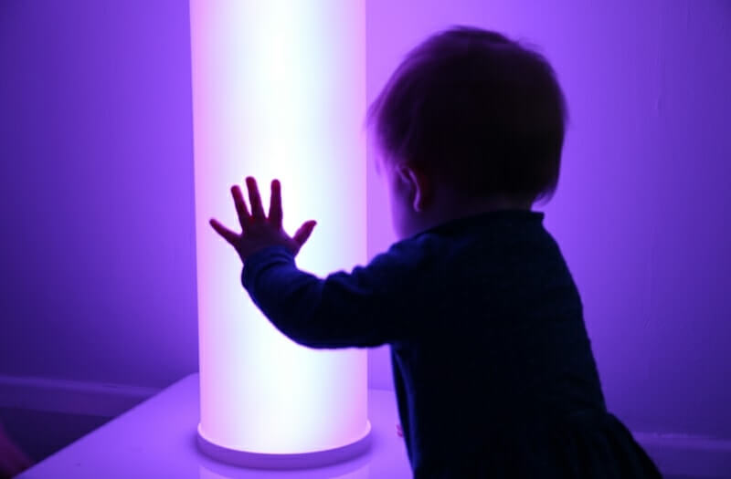 Interactive Chroma Tube - Sensory Equipment