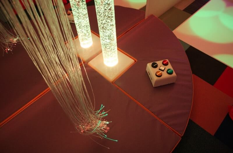 Interactive Fibre Optic Chandelier - Sensory Equipment