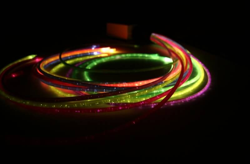 Jumbo Rainbow Fibre Optic Lights - Sensory Equipment