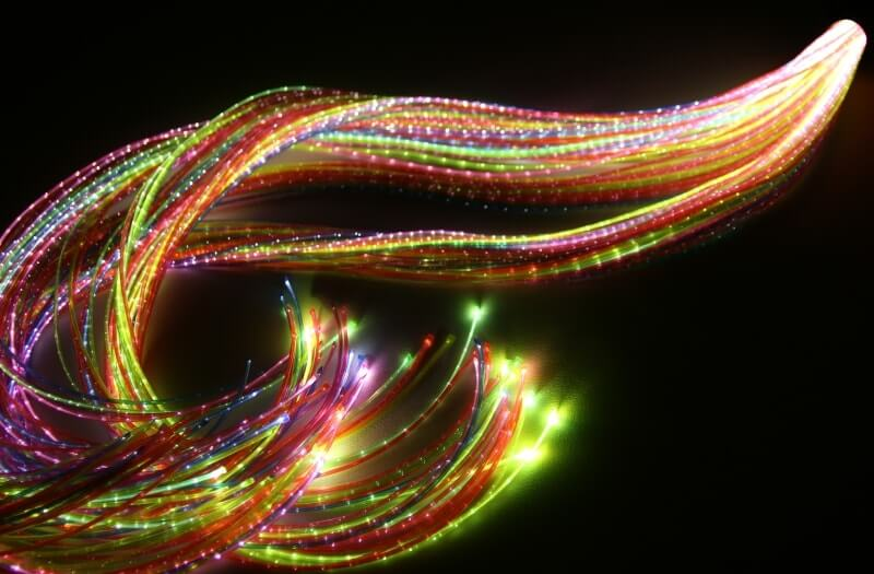 Rainbow Fibre Optic Lights - Sensory Equipment