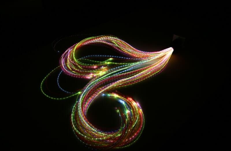 Rainbow Fibre Optic Lights   Sensory Equipment