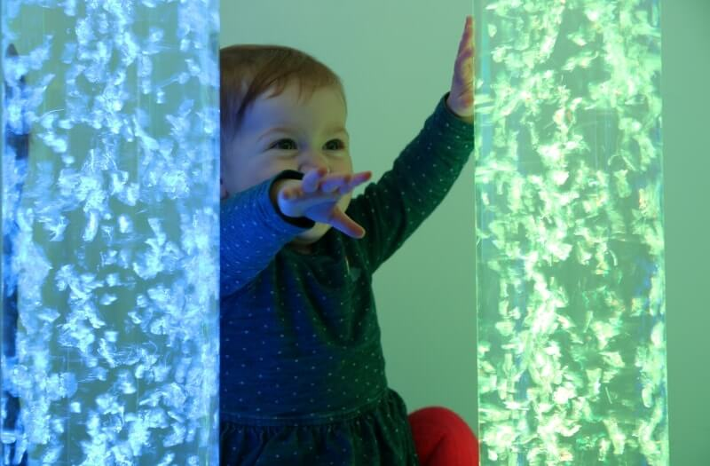 Touch Bubble Tube - Sensory Equipment