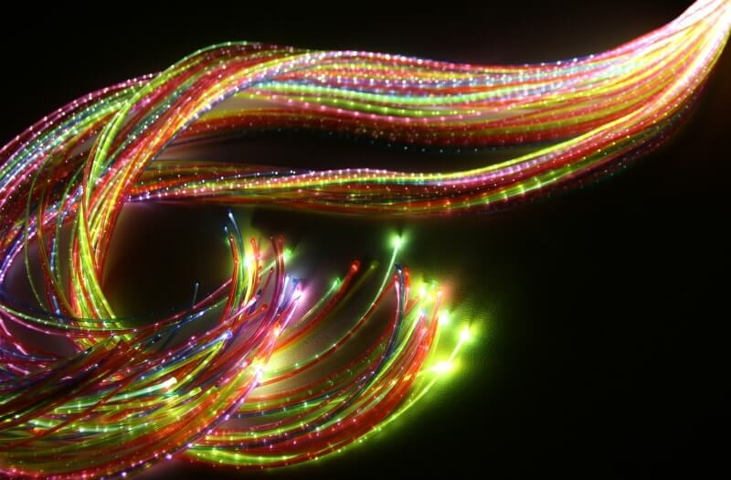 DMX Fibre Optic Lights