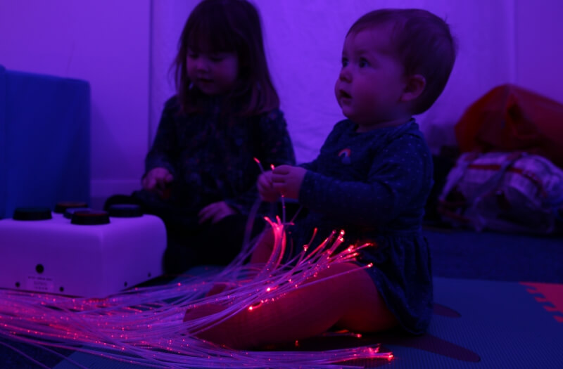 Interactive LED Lightsource