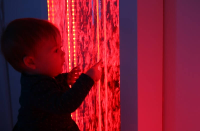 Interactive Sensory Bubble Wall - Sensory Equipment