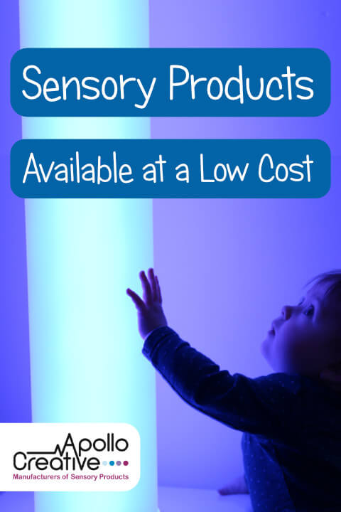 Sensory products available from Apollo Creative